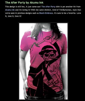 around the web, tshirts around the internet, blog