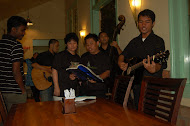 Singing with Indonesian Music Band (Ada Band)