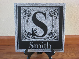 Personalized Granite Tile