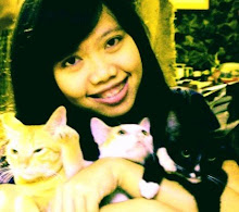 with lovely cat