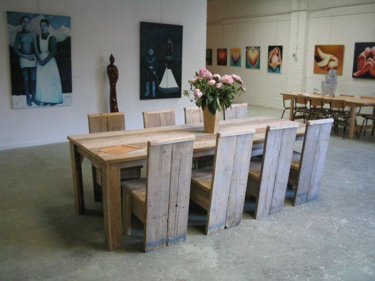 Steigerhout Meubels Goedkoop : Dinterieur advies: wat is steigerhout? waar moet je op letten?