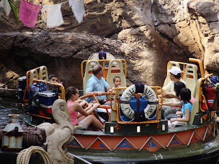 Kali River Rapid Ride at the Animal Kingdom