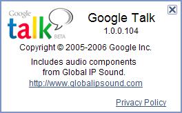gtalk升级到1.0.0.104