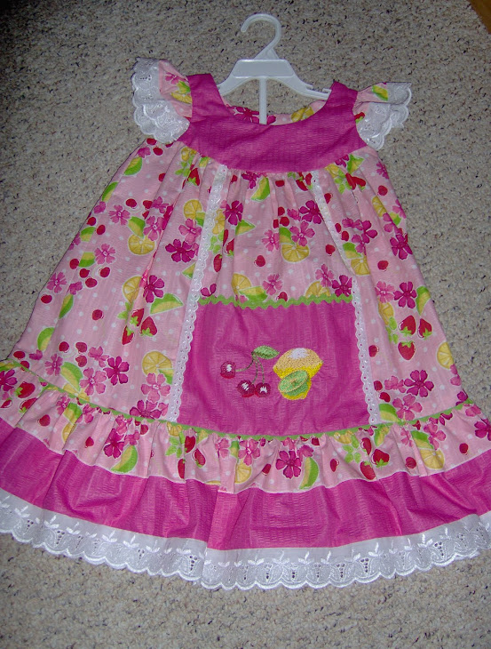 Tutti Fruitti Fruit Dress