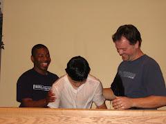 Brian's baptism