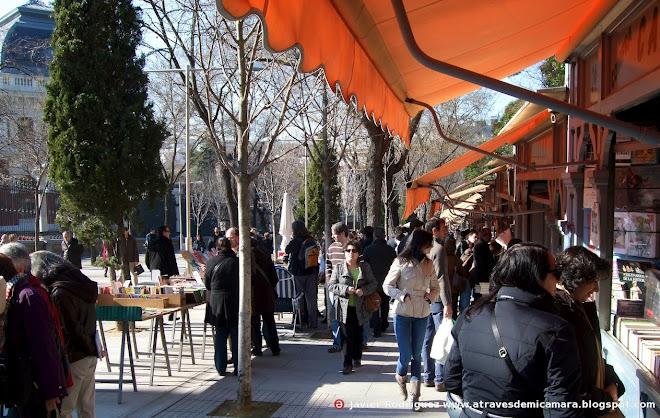 158 Madrid: Moyano, mañanitas de sol y libros