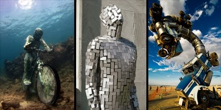 Unusuals Things 12 Awesome And Unique Giant Sculptures