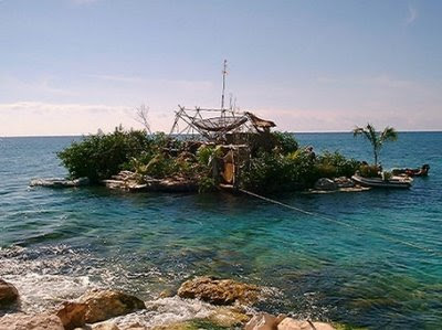 Spiral Island: The Floating Island Made from Plastic Bottles