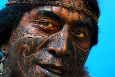 crazy picture awesome tribal facial tattoos from around the world. Black Bedroom Furniture Sets. Home Design Ideas