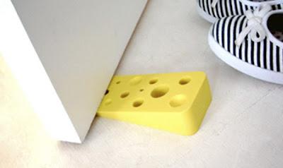 Gentil Modern Door Stoppers And Creative Doorstop Designs That Will Hold Your Door  Open Or Closed In Style. Swiss Cheese Doorstop
