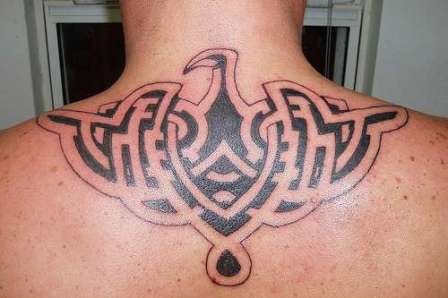 Star Tribal Tattoo Gallery for women. Simple Tattoo Designs