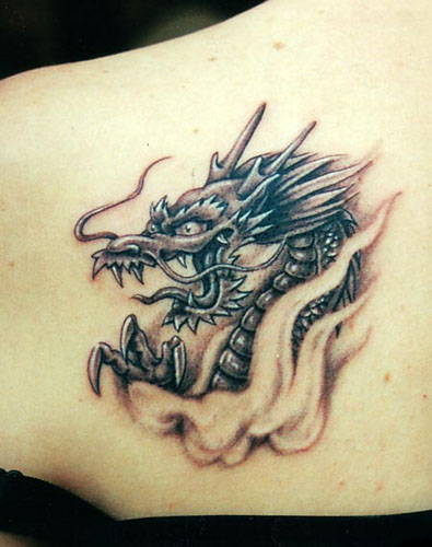 This is one of my favorite Japanese dragon tattoos.