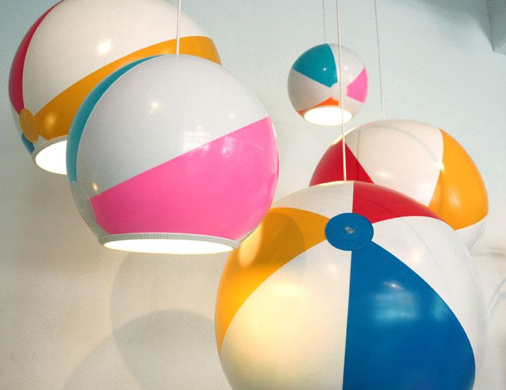 beach ball. Beach Ball Lamp Shade By Toby