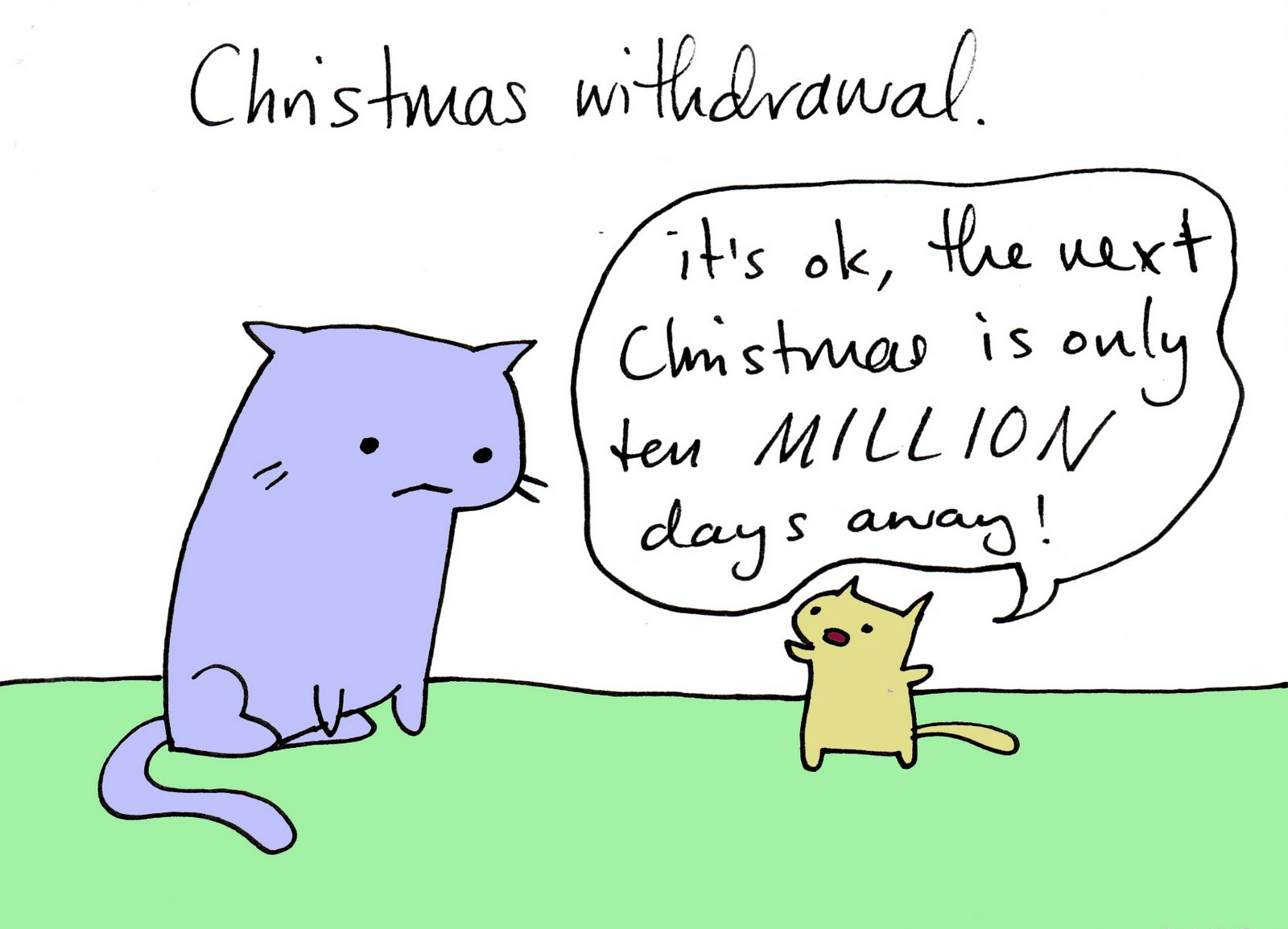 Flimsy the Kitten: Christmas withdrawal