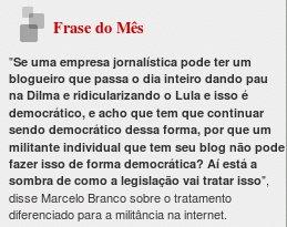 Blog Do Fábio Rodrigues Frase Do Mês Junho De 2010