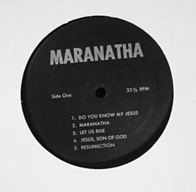 Maranatha,soon,1971,psychedelic-rocknroll,Christian,emmaus_Road_Band,Charlie,Rizzo,xian,New_Milford,Nazarene,label