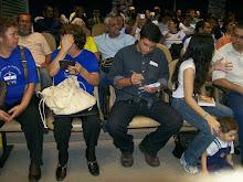 Público da primeira edição da 3ª Temporada do Café com Poesia, na Assembléia Legislativa