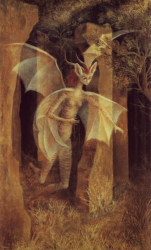 Justine 39 s halloween remedios varo an artist you will like for Crazy mural lady