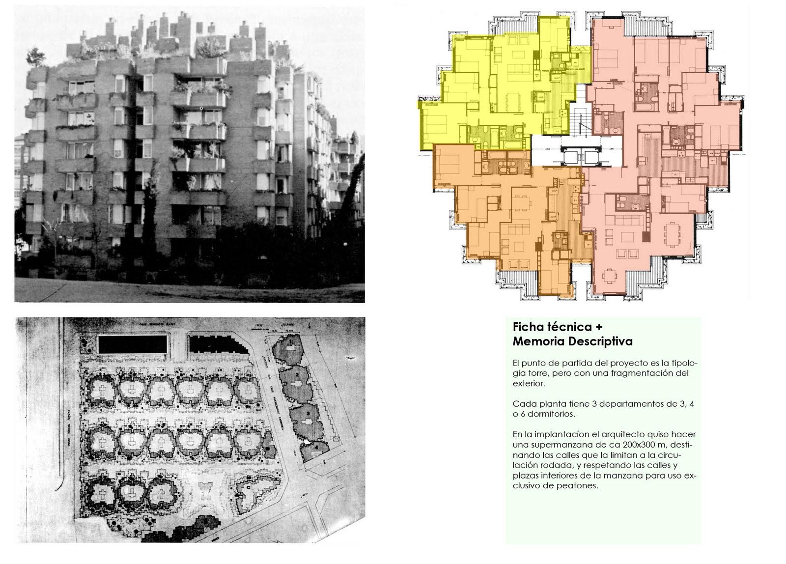 Taller de arquitectura coderch conj viviendas barcelona Noticias de arquitectura recientes