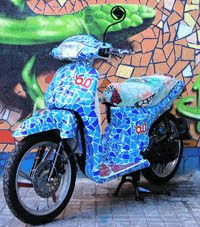 Modifikasi Motor Honda Scoopy-i 2010 Good