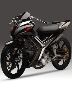 GAMBAR MODIFIKASI MOTOR JUPITER MX 135 LC CW