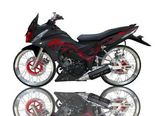 Gallery Foto Modifikasi Motor Yamaha Mio Soul