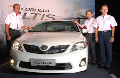 2011 New Toyota Corolla Altis Malaysia Price  Foto Gambar Modifikasi