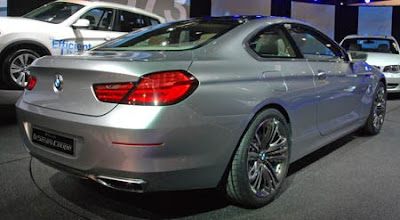 Mobil BMW 6-Series Concept Use LED rear light