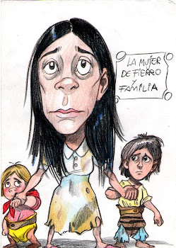 MUJER DE FIERRO Y FAMILIA