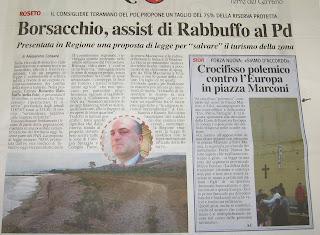 Pubblicato sul quotidiano LA CITTA - di Alessandro Consalvi