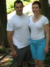 Leslie with Domenick Salvatore