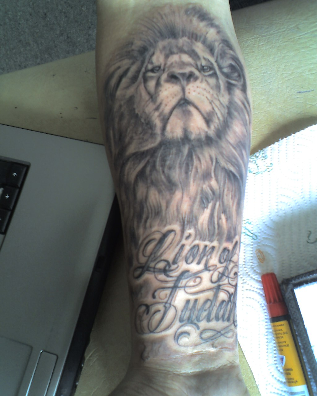 Lion+of+judah+tattoos+for+men