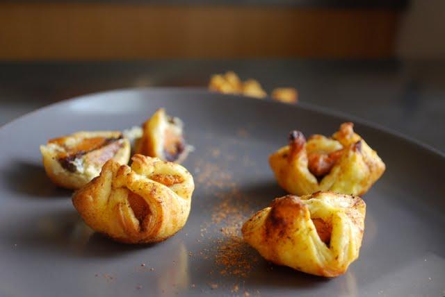 Mes recettes cr atives id e ap ritif mini feuillet s de - Idee recette patate douce ...