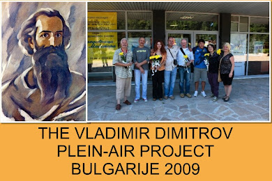 simon selected for the bulgarian plein air  project