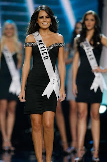 The Winner of Miss Universe Jimena Navarrete From Mexico At Miss Universe Contest 2010