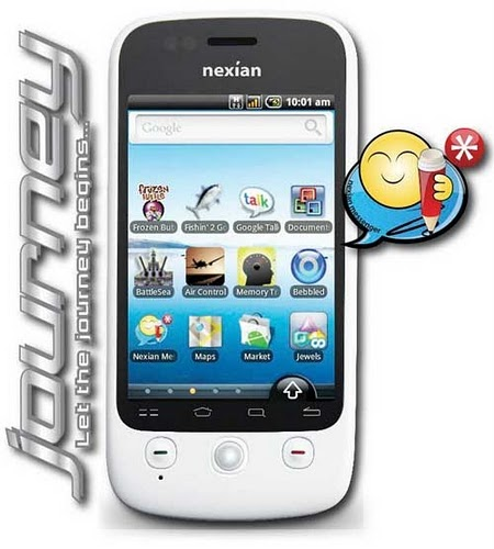 HP Nexian Journey And Handphone Android - Daftar Harga HP