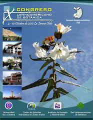 X Congreso Latinoamericano de Botanica