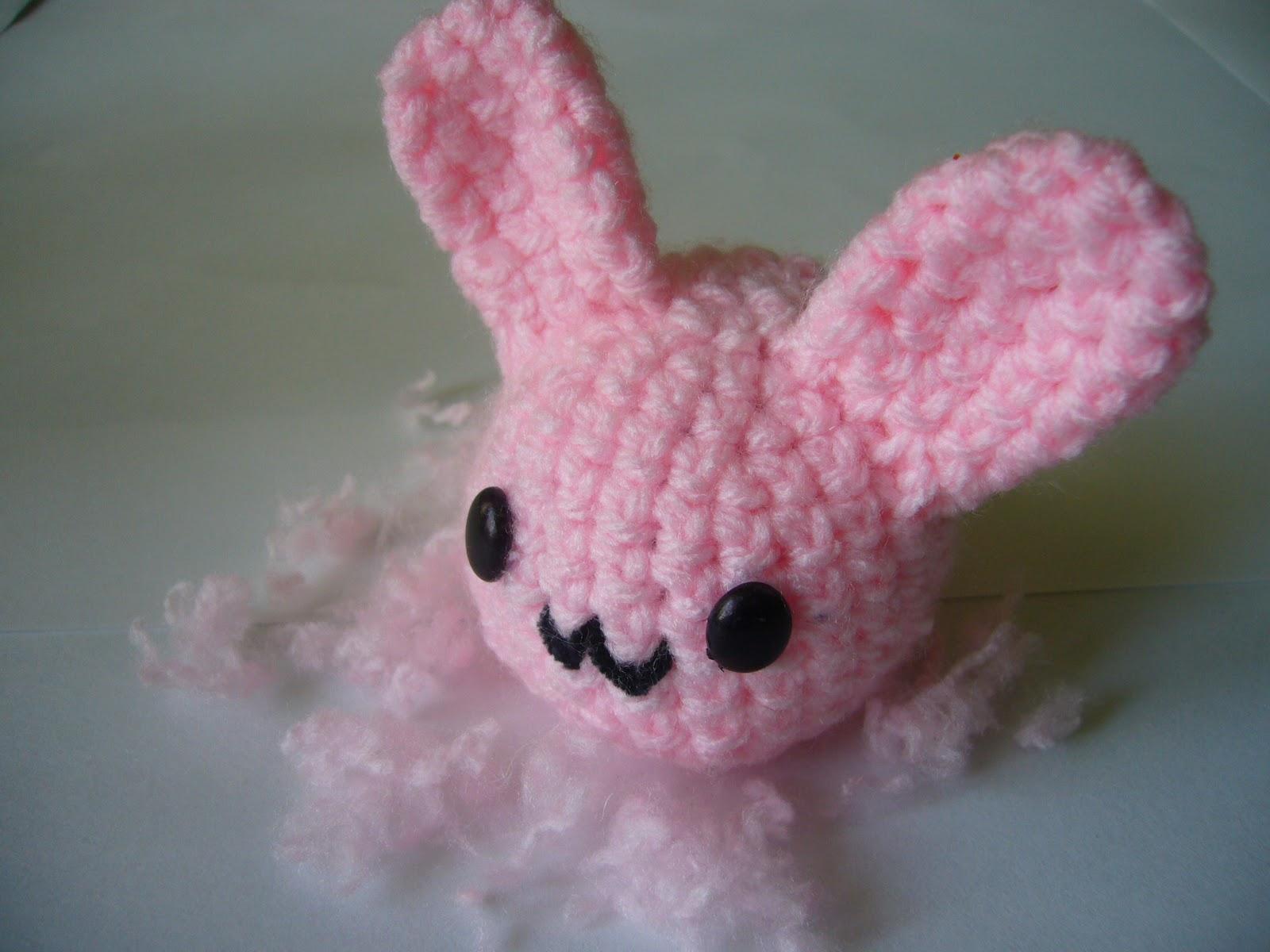 Cutesy Crochet [Kawaii Amigurumi]: Blob Bunny & Blob Duck