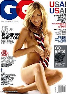 Jennifer Aniston GQ Nude Cover Photo