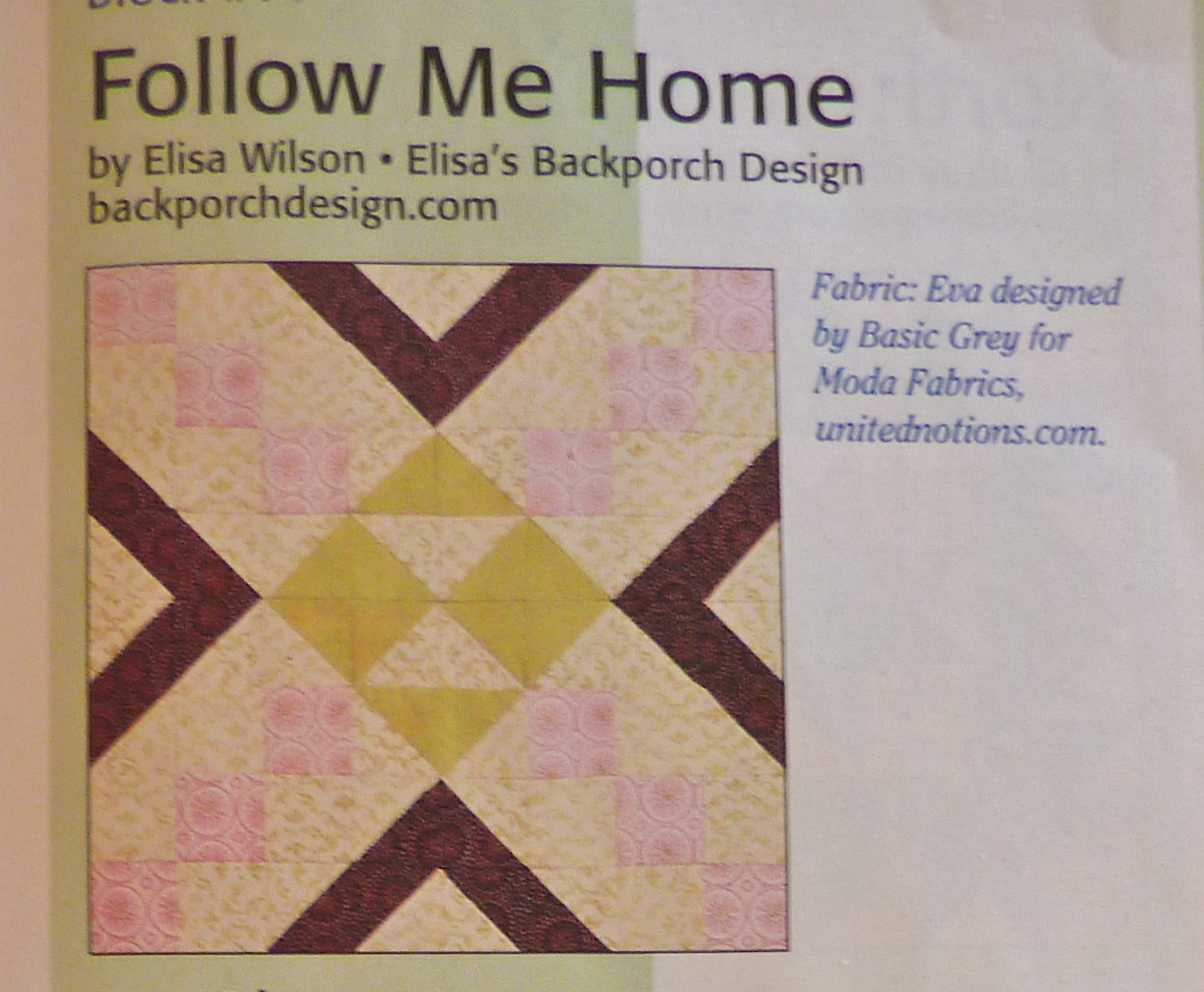 Kathy's Quilts: Saturday Sampler #12