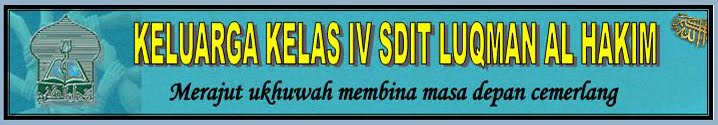 Keluarga kelas 4 SDIT Luqman Al Hakim Yogyakarta