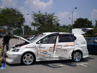 Honda Stream extreme body kit