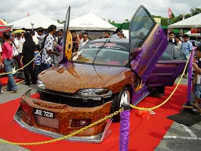 Extreme Wira wide body by KTS Motor Sport