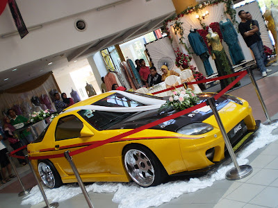 Mazda RX7 FC wedding car