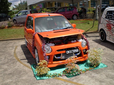 Modified Perodua Kancil