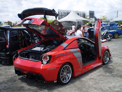Modified Toyota Celica