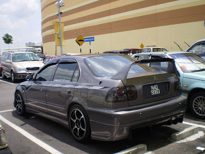 Honda Civic EK Sedan bodykit