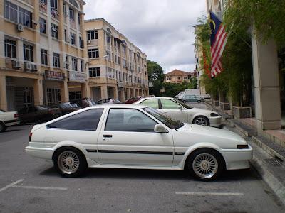 The legendary drift car