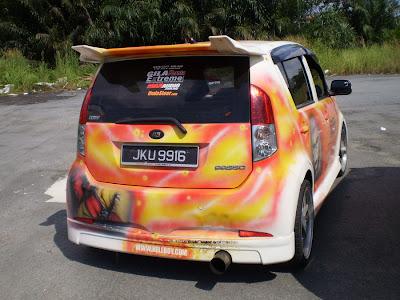 Myvi autoshow car