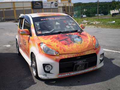 Myvi autoshow car